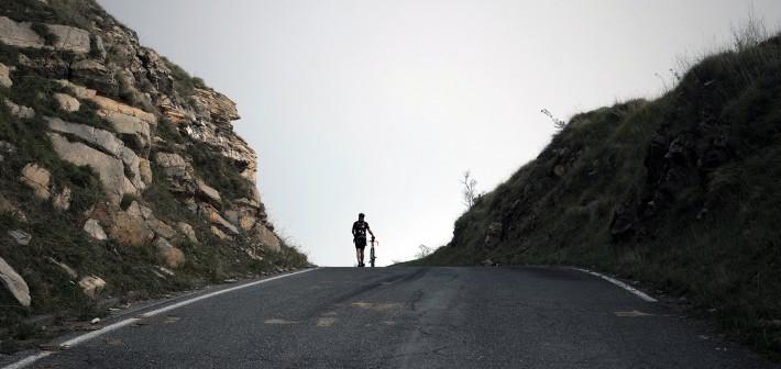 Track Bikes & Backpacks